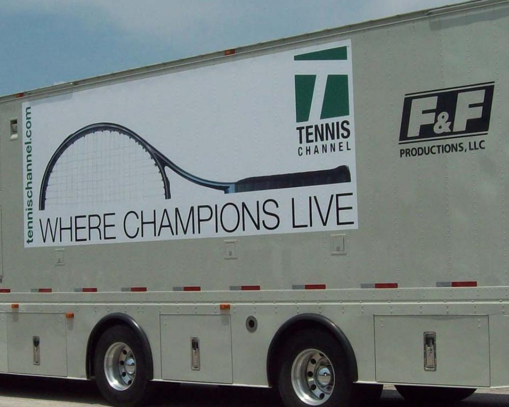 Live From the US Open: Broadcasters Rely on F&F Productions for Major Court Coverage